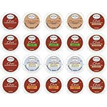 Twinings Chai Tea & By The Cup Honey Stix Variety Sampler - 20 Ct Keurig K-Cups
