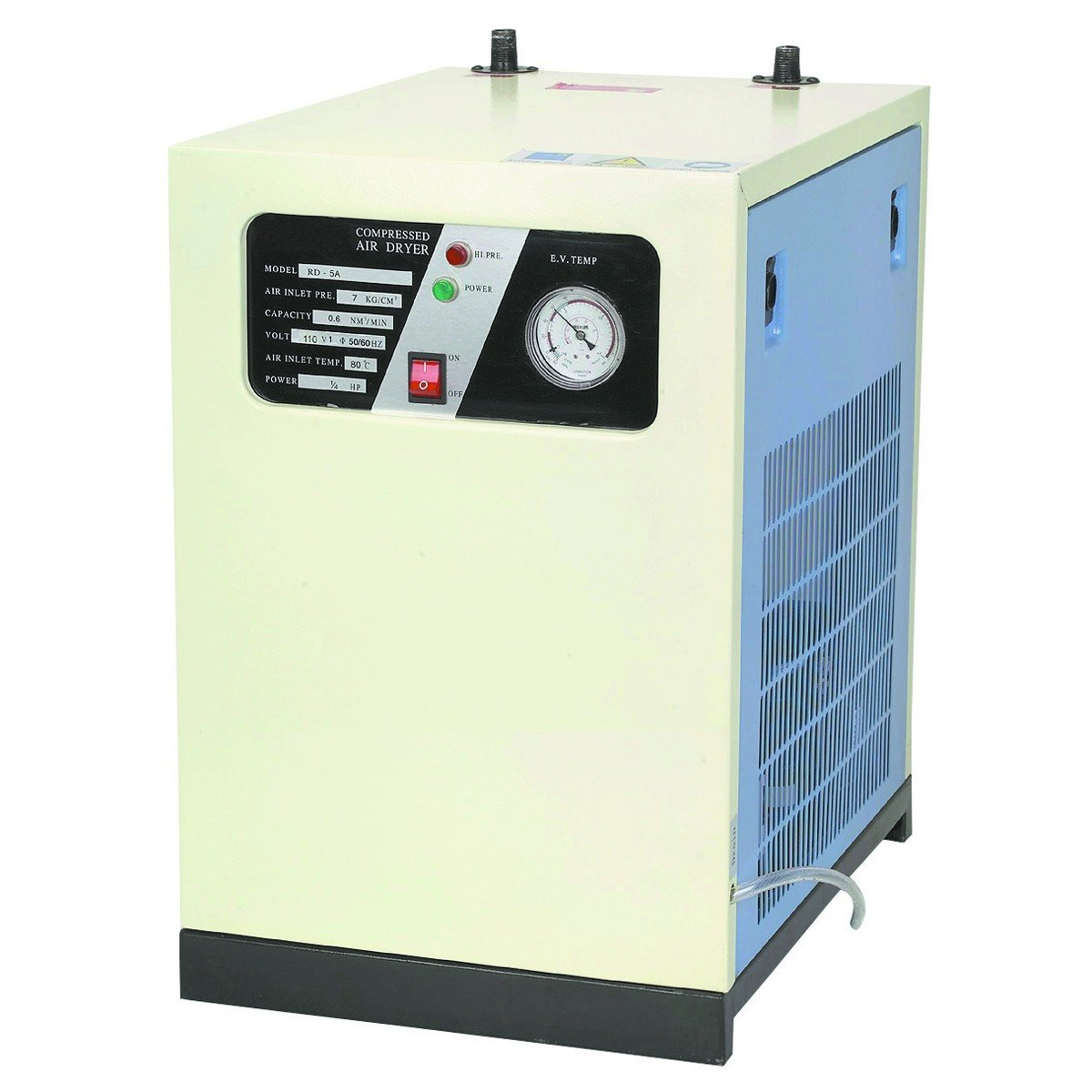 3-IN-1 REFRIGERATED COMPRESSED AIR DRYER SYSTEM COMPRESSOR by Central Pneumatic