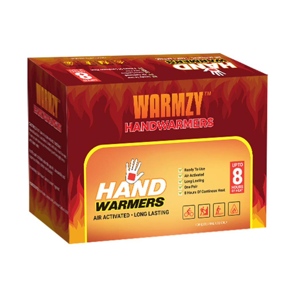 (5-Pairs / 10 Warmers) Hand & Body Warmers - Air Activated Heating Packs for Hands, Toes and Body - Safe and Odorless - 8 Hours of Continuous Heat - ...