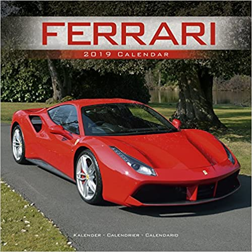 Ferrari 2019 Wall Calendar