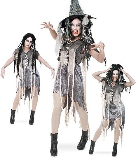 narrenwelt Zombie Vestido Halloween Vestido de Mujer 1tlg ...