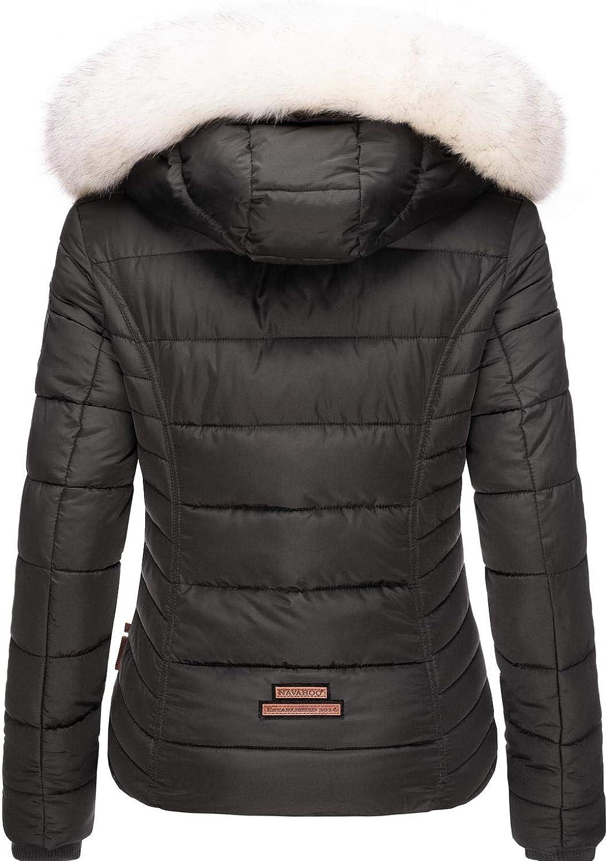 Chaqueta de invierno acolchada para mujer con piel sint/ética extra/íble Navahoo Khingas XS-XL