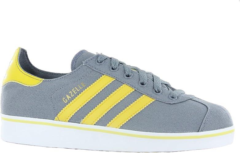 Adidas Gazelle 2 Grey Womens Trainers Size 6 UK: Amazon.co.uk ...