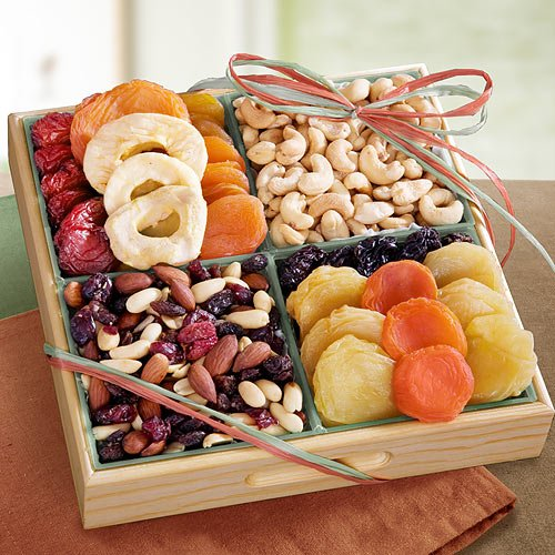 Golden Gate Dried Fruit and Nut Tray Gift