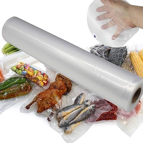 ACEBABY Bolsas de Vacío Reutilizables 1 Rollos 25x500cm ...
