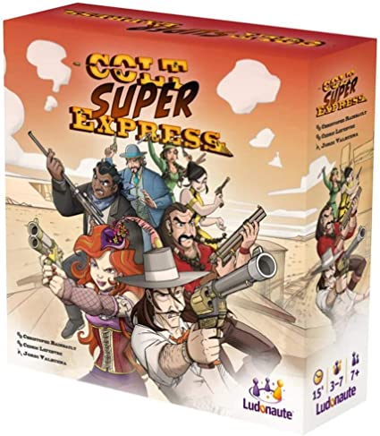 Colt Super Express Board Game