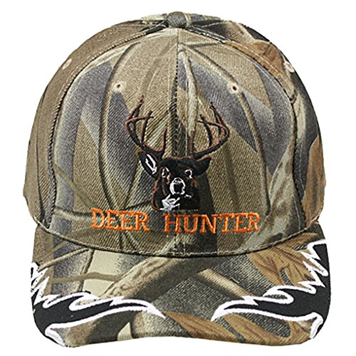 Silver Fever Classic Baseball Hat 100% Adjustable Unisex Trucker Cap - Made to Last (Deer Hunter Grey Camouflage)