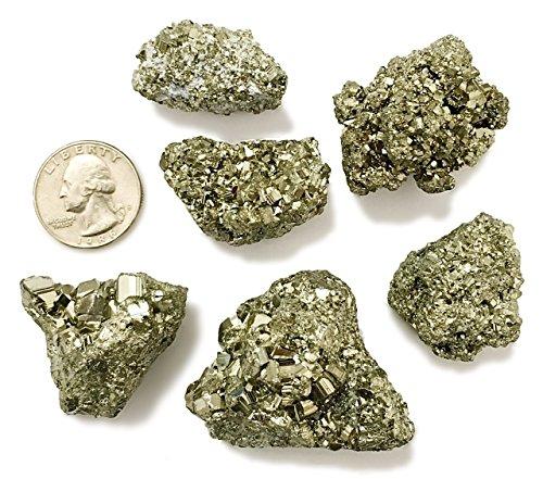1/2 Pound of Pyrite Cocada Fools Gold - Healing Reiki Wholesale