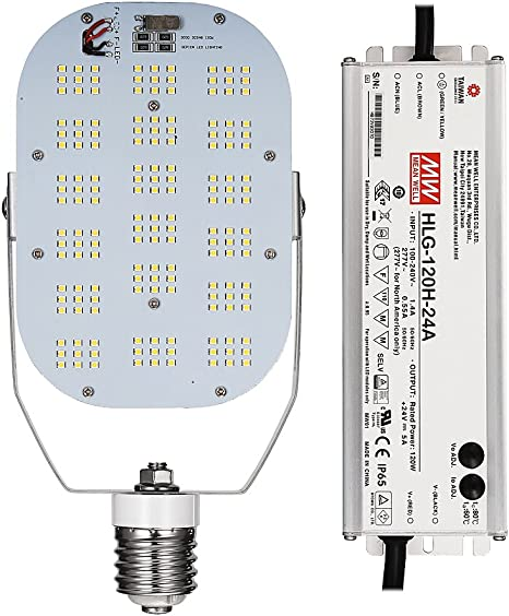 UL Certified 120 watt 400W LED HID Replacement Phillips LED Retrofit Kit DLC