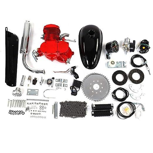 Neufday Kit de Motor de Bicicleta de 80cc, Bicicleta motorizada de ...