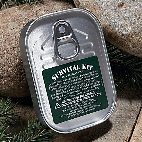 Whistle Creek Survival Kit Sardine