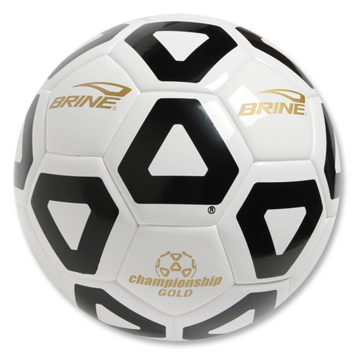 Brine Championshipハイブリッドゴールドサッカーボール B002YQGHAA5