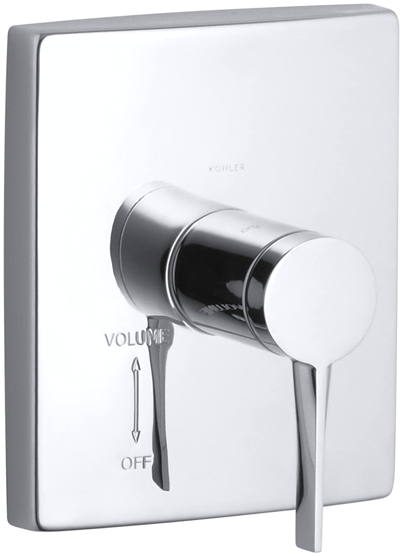 Container Volume Control : Kohler k t cp stance volume control valve trim