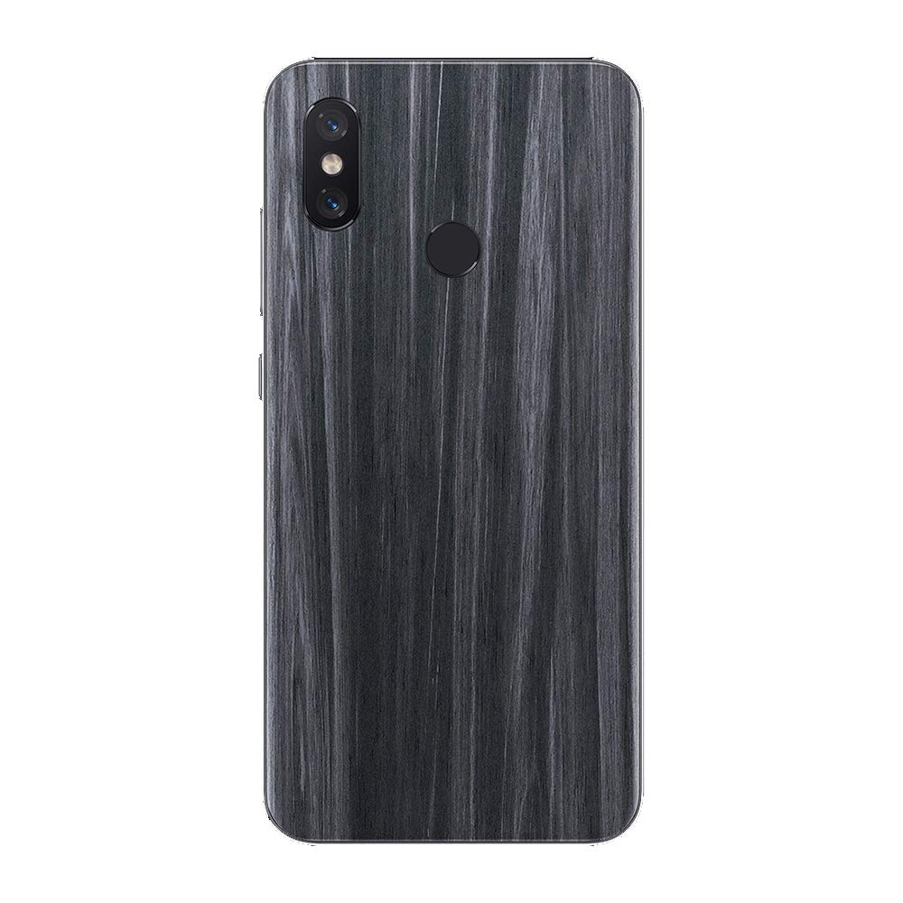 7 Layer Skinz Custom Skin Wrap Compatible with Xiaomi Mi 8 Black Carbon Fiber