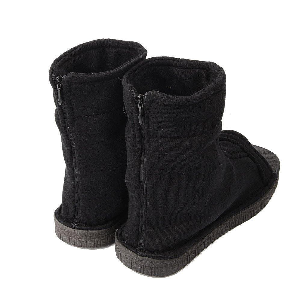 Zapatos Ziyanshop Naruto Shippuuden Ninja botas negro Bule ...