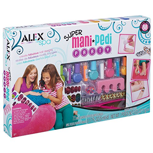 ALEX Spa Super Mani Pedi Party Kit Game