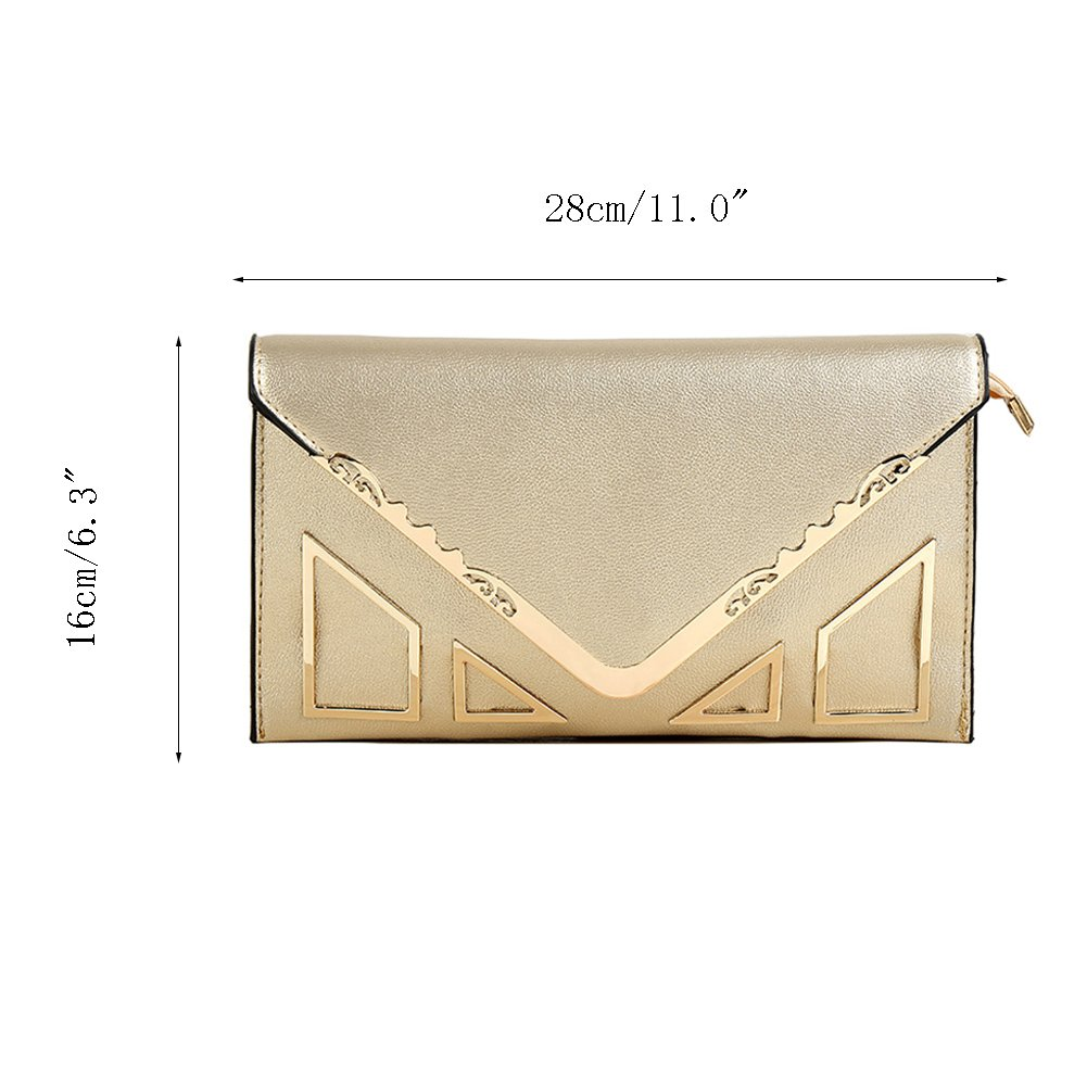 Sookiay Womens Envelope Clutch Wallet by Sookiay (Image #3)