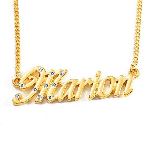 collier prenom marion