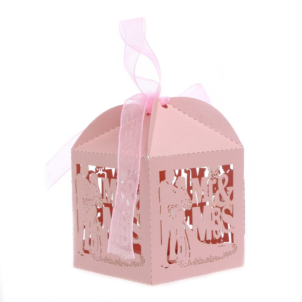 Amazon.com: cici store 10Pcs Mr Mrs Candy Boxes Wedding Engagement ...