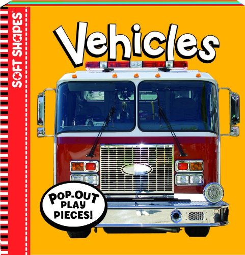 Foam Board Books - Soft Shapes Photo Books: Vehicles