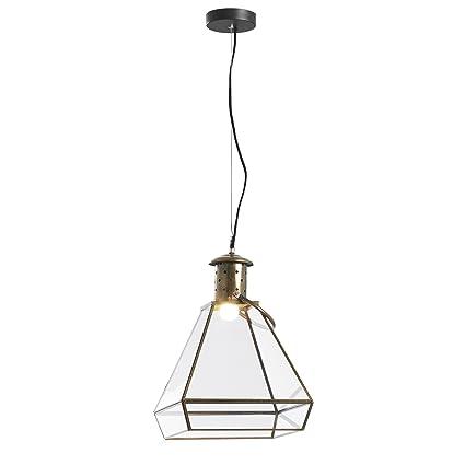 Kave Home Lámpara de techo Best, dorado: Amazon.es: Hogar