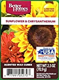 Better Homes and Gardens Sunflower & Chrysanthemum Wax Cubes 2.5oz