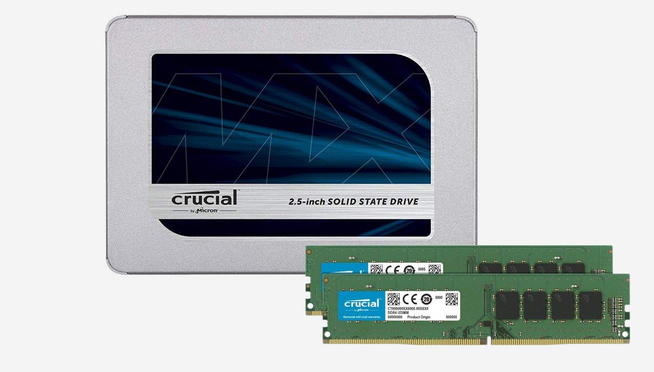 Crucial MX500 500GB 3D NAND SATA 2.5 Inch Internal SSD - CT500MX500SSD1(Z) CT500MX500SSD1Z