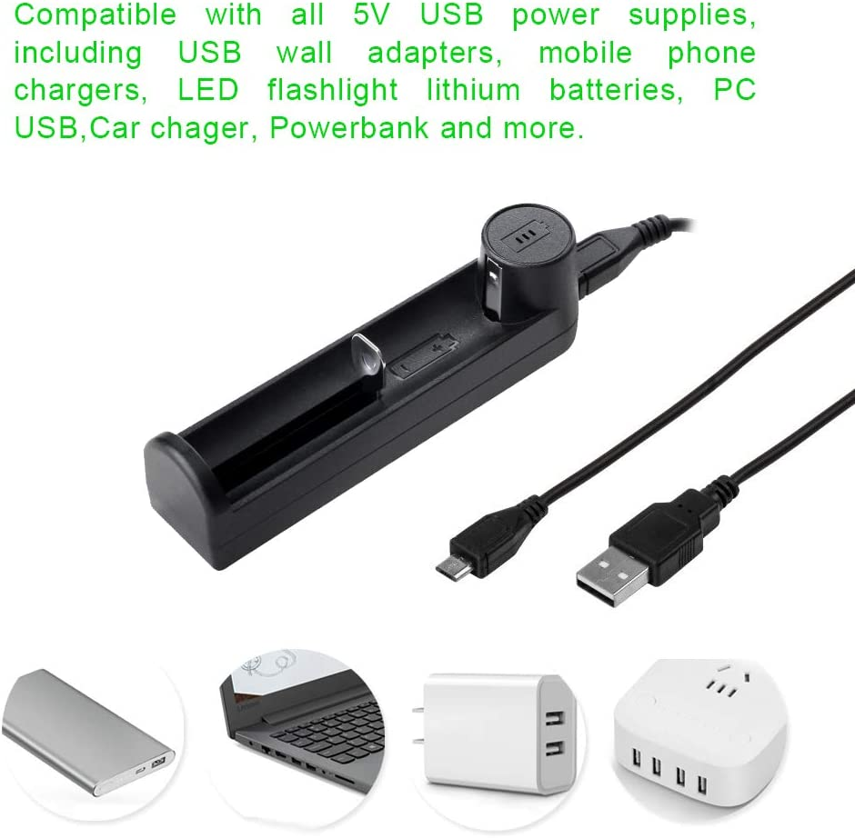 14500 Rechargeable Batteries RCR123 Update Universal Intelligent USB Battery Charger for Li-ion SIMILKY 18650 18490 18350 17670 17500 16340