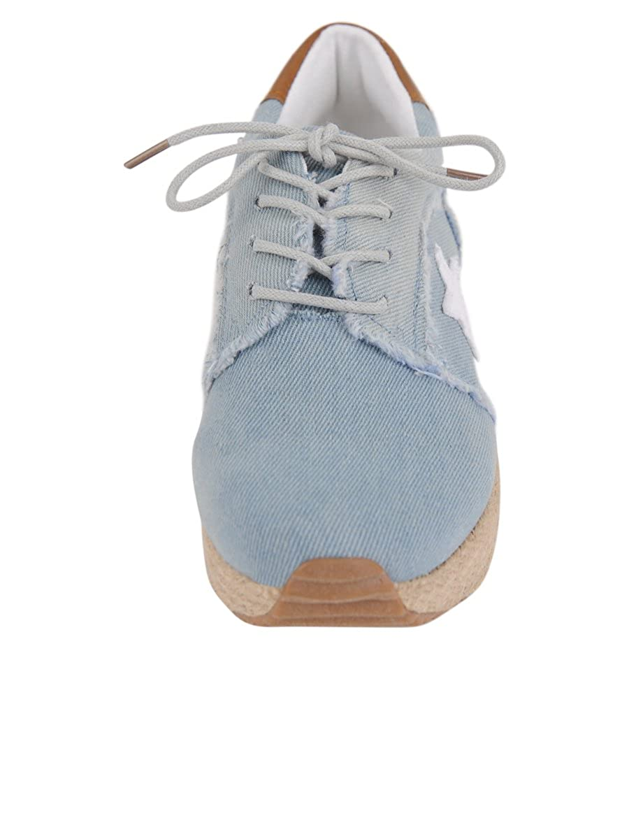 71b0ef9c2492 Amazon.com | VINTAGE HAVANA Women's Azul Espadrille Platform Sneaker, Blue  Denim, 5.5 | Fashion Sneakers