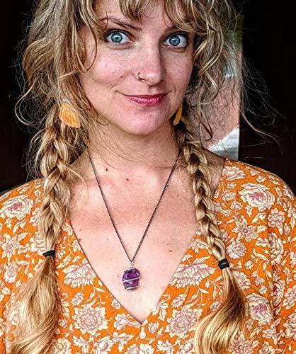 Auralite 23 Braided Necklace