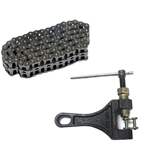 106 Links 420 Drive Chain Link Chain Breaker Cutter Motorcycle Dirt Pit Bike ATV