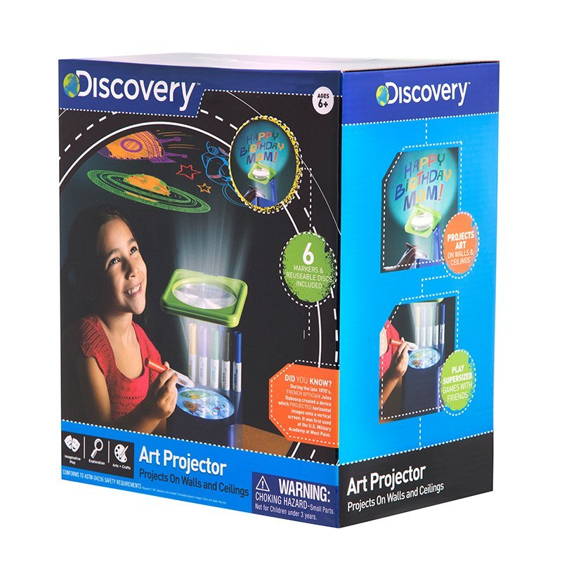 Discovery- Proyector de Arte, Color Azul (6000134): Amazon.es ...