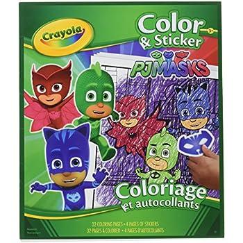 Amazon Com Crayola Color Sticker Book Incredibles 2 Toys Games