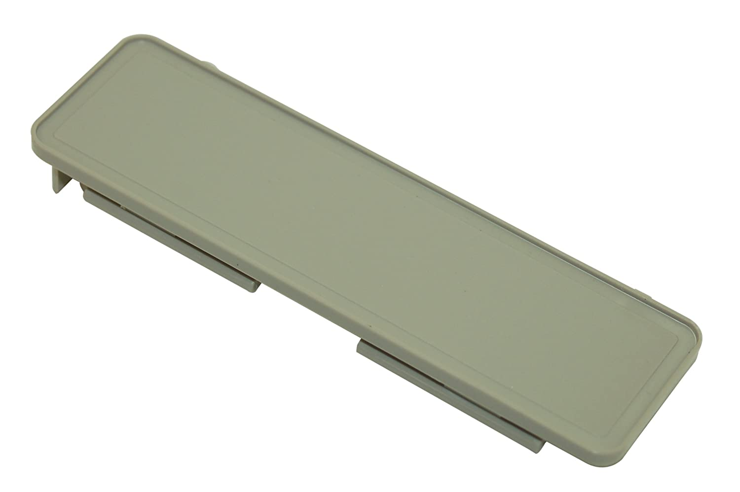 Smeg Dishwasher Grey Dishwasher Handle Cover. Genuine Part Number 762171543