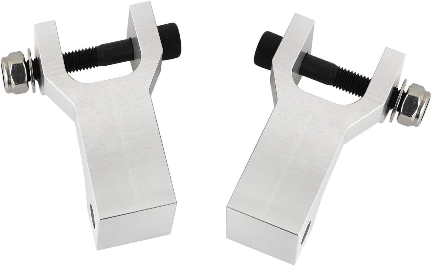H2Racing CNC Aluminio 3.5 Front Kits de instalaci/ón de suspensi/ón inferior Reemplazar Yam-aha Raptor 350 YFM350,660R YFM660R,700 YFM700
