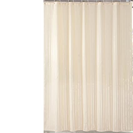 Amazon Lunallie Modern Striped Shower Curtains Mildew Resistant