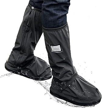 S-XL PVC Wasserdichte Faltbar Fahrrad Motorrad Regen Schuhüberzieher Rutschfest