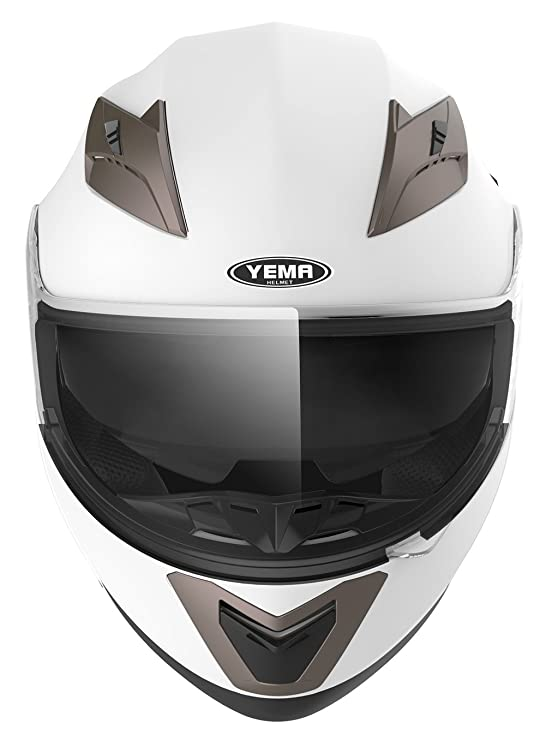 Amazon.com: YEMA Helmet Visor Face Shield for YM-829 and YM-831, Smoked: Automotive