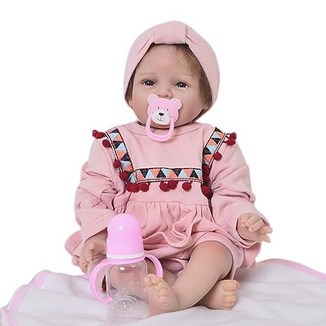 Amazon.es: KEIUMI Muñecas de bebé de 56 cm con sonrisa de ...