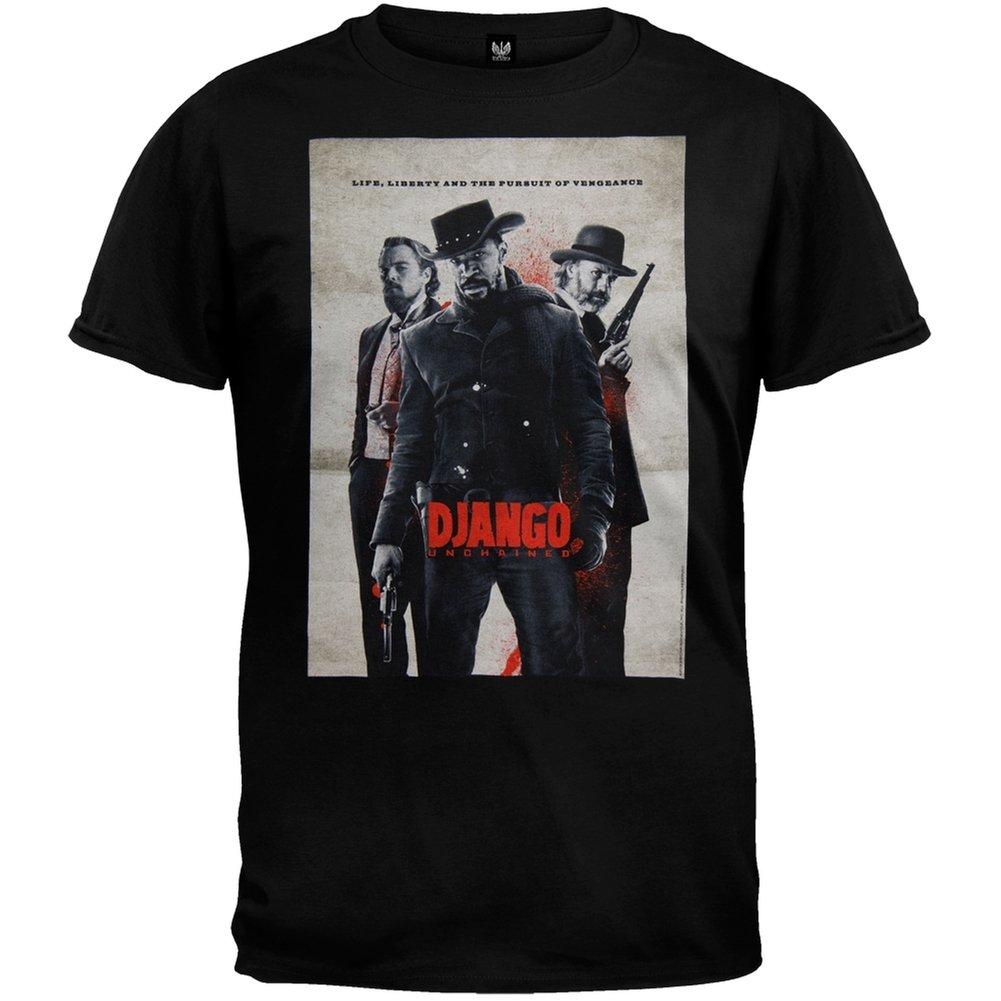 Django Unchained Life Liberty And Poster Tshirt