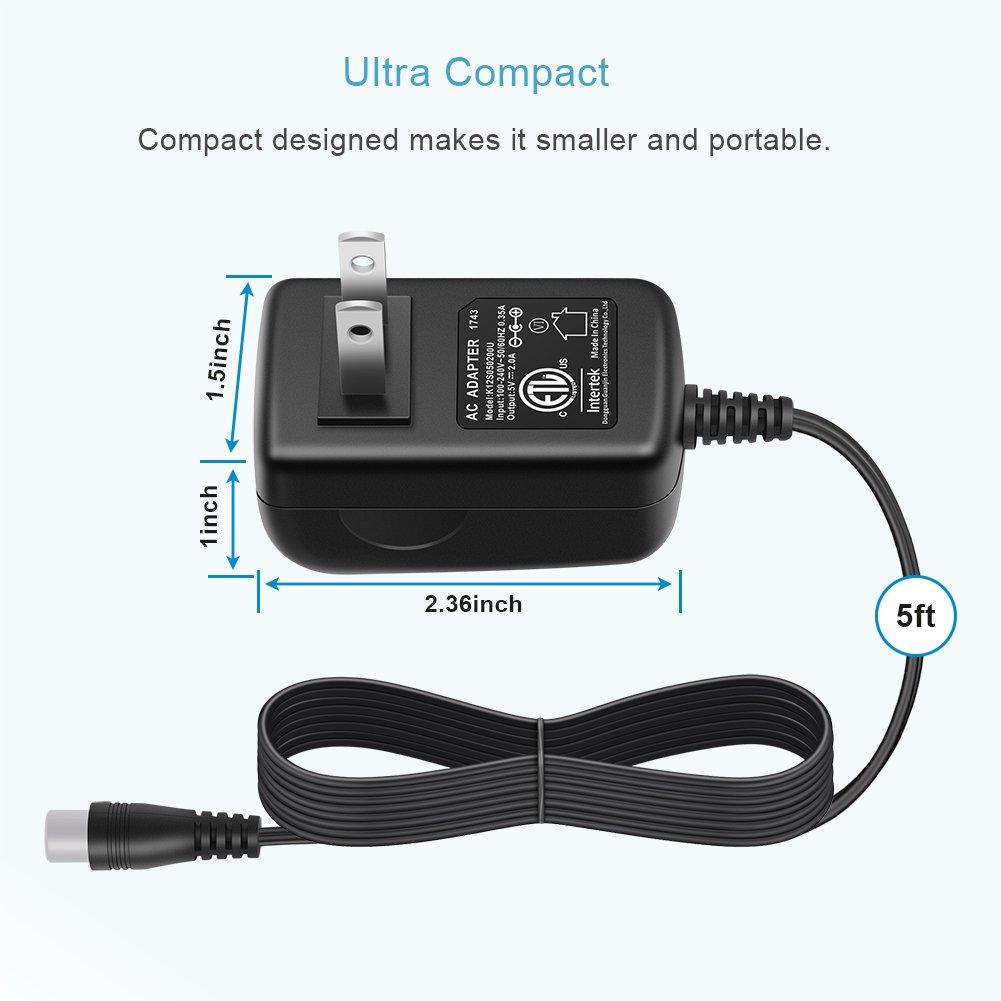 amazon com 10w 5v 2a multi tips switching power ac adapter wall rh amazon com