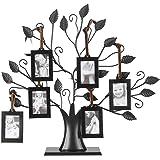 6 Colgantes / 12 Colgantes de fotos Árbol de la familia Árbol de fotos Marco con diseño de árboles colgantes Mesa…