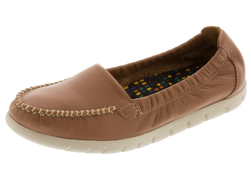 SAS Womens Sunny B06XYYYR14 7.5 S - Slim (AAA) US|Pecan Brown