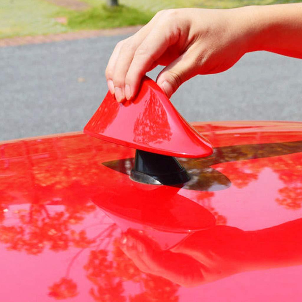 Car Fin,Car Fin Vehicle Modification Roof Aerial FM//AM Antenna Decoration Fin Vehicle Antenna Accessory