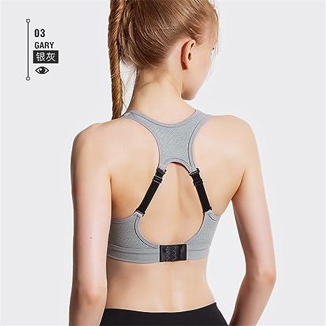 Qosow Sujetadores deportivos para mujer Ropa interior deportiva mujer corriendo fitness yoga reunir chaleco de dormir