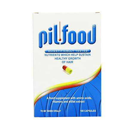 Pilfood Hair And Nails 90 Capsules