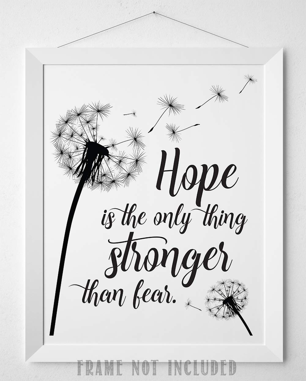 jpg silhouette dxf Image transfer wall art svg cricut svg eps wise quote Svg png Hope is the only thing stronger than fear cutter
