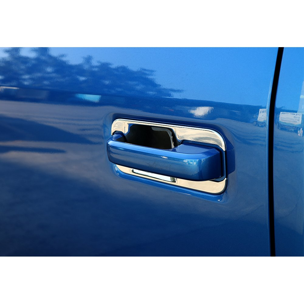 Car Exterior Door Handle Bowl Decoration Trim Cover Set for Ford F150 2014 2015 2016 2017 2018