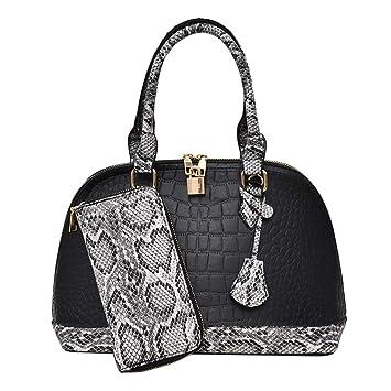 Amazon.com: Pinleg Bolso de mano para mujer, de moda, bolso ...