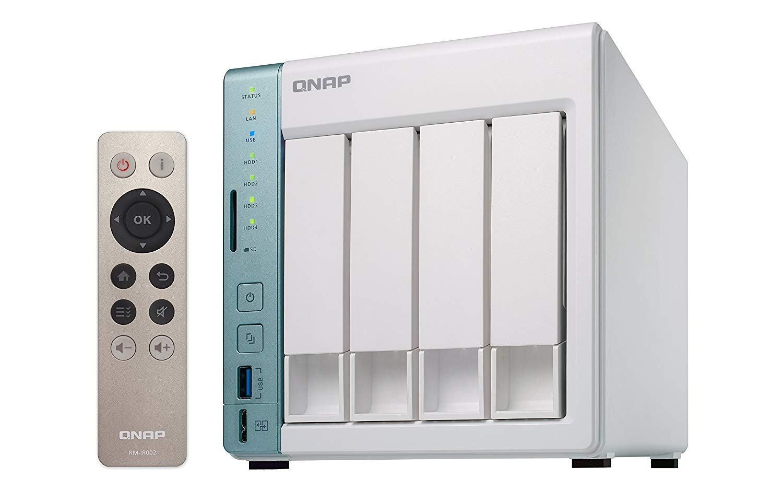 QNAP TS-451A-2G 24TB 4 Bay NAS Solución | Instalado con 4 x 6TB Seagate IrownWolf Drives